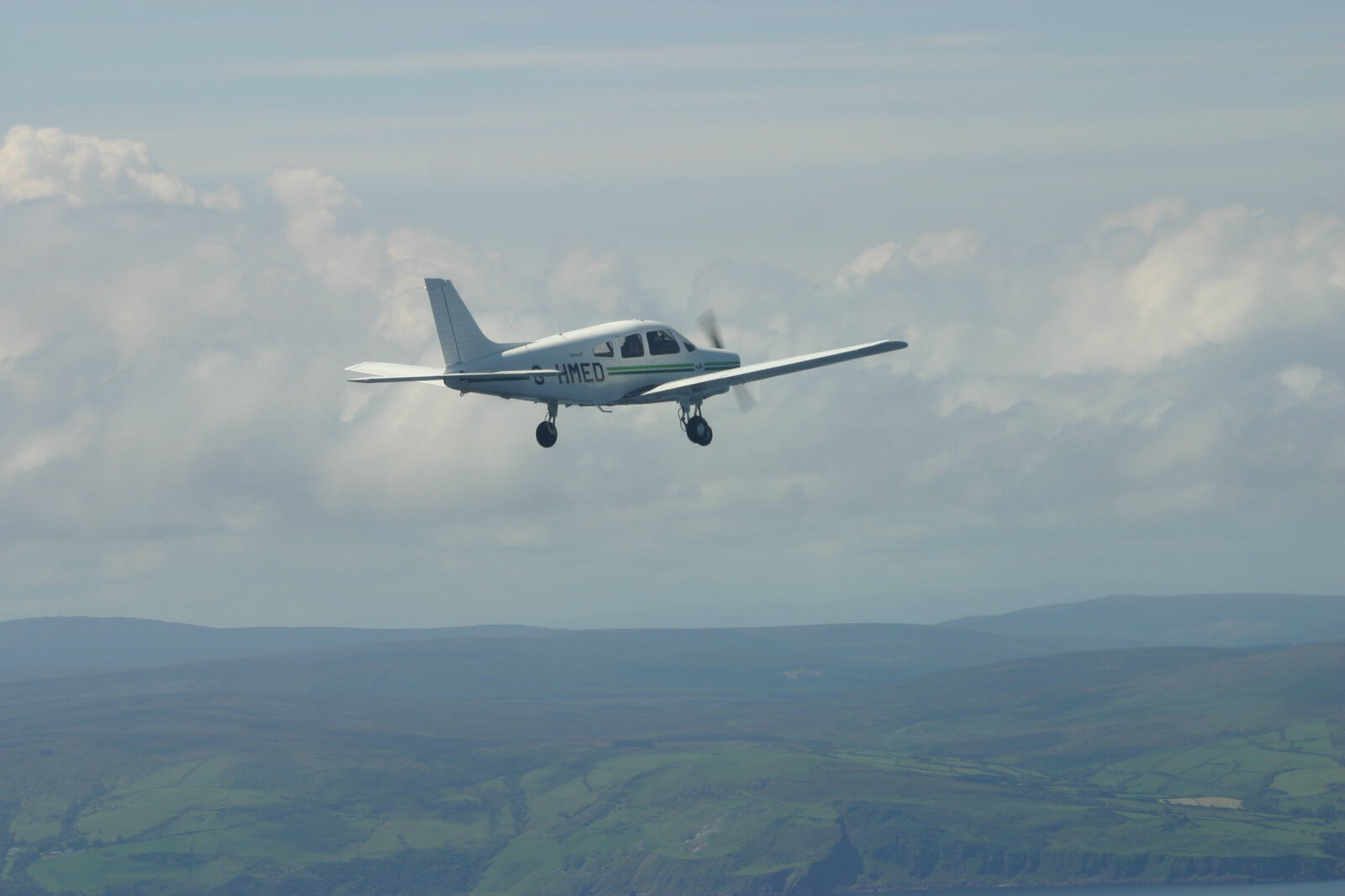 Flying experience with Eglinton flying club